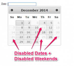 How to Disable Dates in Jquery DatePicker - A Short Guide