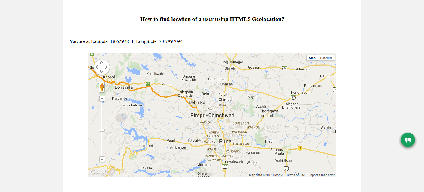 How to Use HTML5 Geolocation API - A Detailed Tutorial
